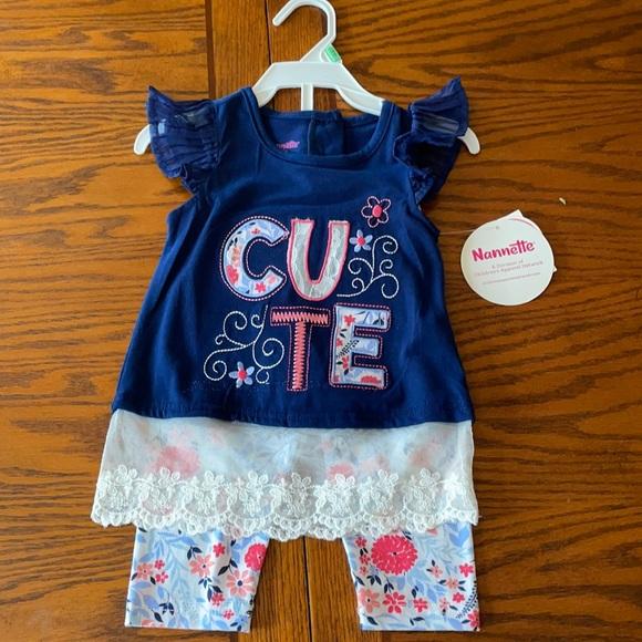 Nanette matching set size 18 months
